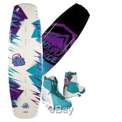 2014 Liquid Force Harley Wakeboard with Harley Boots