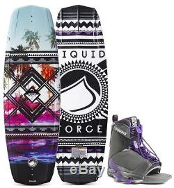 2016 Liquid Force Jett Wakeboad with Transit Bindings