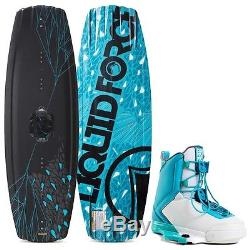2016 Liquid Force M. E. Wakeboard with Team Bindings