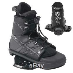 $370 Liquid Force Fusion Watson Wakeboard Bindings Boots S M 4-9 with 2nd B15