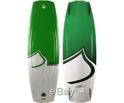 $500 Liquid Force Shawn Watson Pro Wakeboard with Fins Green White 135cm