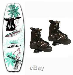 $700 Liquid Force Joyride Wakeboard with Transit Bindings Boots Package B21 2nd