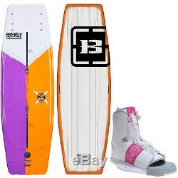 Byerly AR1 Blem Wakeboard 53in + Liquid Force Element Bindings Mens Sz 8-12