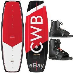 Connelly Reverb Wakeboard Mens Sz 131cm + Liquid Force Bindings Sz O/S (8-12)