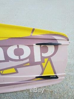 Double Up Delta Series Wakeboard with/ Liquid Force Bindings 5316x11 134cm