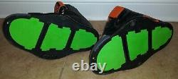 HOOK LOOP Liquid Force Domain Wakeboard Bindings size 8-12 Boots NO LACES Straps