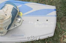 HYPERLITE STATE135 WAKEBOARD withALPHA LIQUID FORCE BINDINGS & BOOTS & 1.1 A WING
