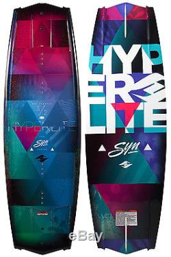 Hyperlite Syn Wakeboard Womens 132cm + Liquid Force Bindings O/S 6-10