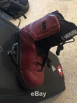 LIQUID FORCE RDX 142 Wakeboard With Liquid Force Raph Boots