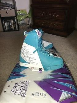 Liquid Force 2014 Harley Pro Wakeboard W Boots