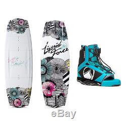 Liquid Force Angel Womens Wakeboard With Plush Bindings 2016