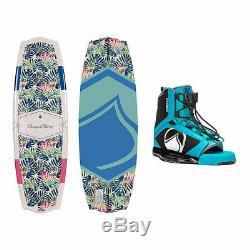 Liquid Force Angel Womens Wakeboard With Plush Bindings 2019 135cm/4-7 NEW
