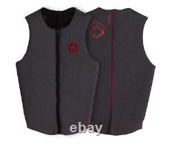 Liquid Force Enigma Comp Impact Watersports Wakeboard Vest, Heather. 64249