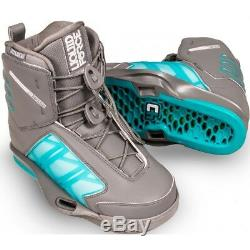 Liquid Force Form 4d Wake Boot Wakeboard Boots Size Mens 10-11 Brand New