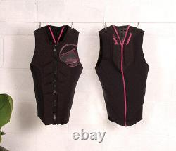 Liquid Force Ghost Competition Ladies Wakeboard Impact Vest, Coal Pink. 64076