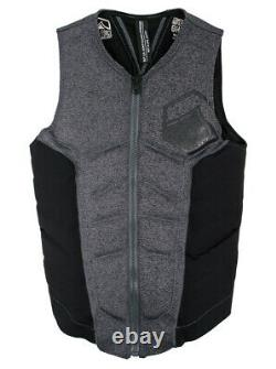 Liquid Force Ghost Wakeboard Impact Vest, Multiple Sizes, Heather, Black. 61348