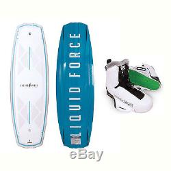 Liquid Force Harley Classic Wakeboard With Tao Bindings 2017