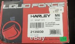 Liquid Force Harley Wakeboard Boots Size 8-10