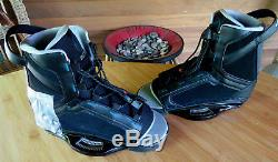 Liquid Force Index Wakeboard Bindings Size 8-12 Index Info Tag Attached. HDW Too