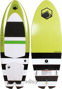 Liquid Force Rocket Wakesurfer with Handle Sz 5ft