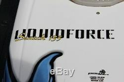 Liquid Force Search 135 Wakesurfer Wakeboard Sz 135.6cm POLYCORE FLITE