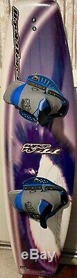 Liquid Force Super Fly 44 Wakeboard Kiteboard Package with Boots Mens Sz 143.8cm