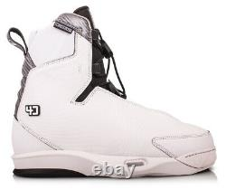 Liquid Force Tao 4D Wakeboard Binding, Multiple Sizes, White. 72158