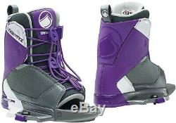 Liquid Force Transit Wake Boot Lds Wakeboard Boots - Size 4-7- Brand New