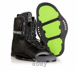 Liquid Force Transit Wakeboard Bindings Boots USA Size 8-10 New In Box MINT