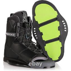 Liquid Force Transit Wakeboard Boots BLK 2020 12-15