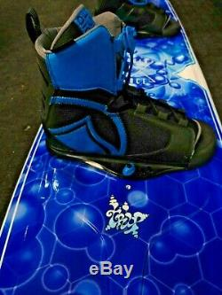 Liquid Force Trip 144 wakeboard with Index bindings