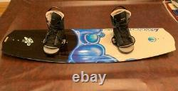 Liquid Force Trip Wakeboard 138x43 with Liquid Force Bindings Size 8-12