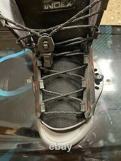 Liquid Force Wake Board Trip 142 With Liquid Force Index Bindings 8-12 Used Once