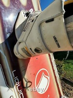 Liquid Force Wake Board With Boots 143.2 x 43.6. J. Redmon design. Great cond