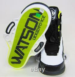 Liquid Force Watson Mens Wakeboard Boots Size 10/11 Black/white New