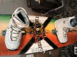 Liquid Force Watson Wakeboard with boots 11 to 12 ready to ride