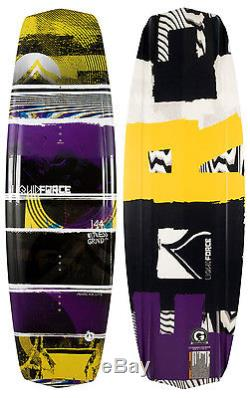 Liquid Force Witness Grind Wakeboard 144 + Liquid Force Bindings Mens Sz 8-12
