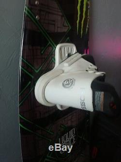 Monster Energy Harley Clifford with Bindings (139) Liquid Force Wakeboard NEW