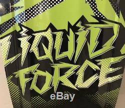 Monster Energy Liquid Force Wakeboard BRAND NEW