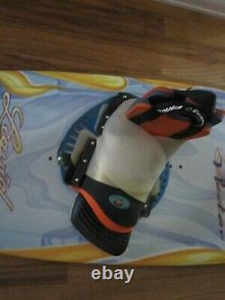 NECTAR Liquid Force Wakeboard 135 cm comes With ULTRA bindings fit size 7-12