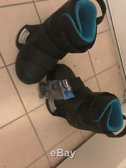 New Liquid Force Vantage Wakeboard bindings/boots BLACK size 11-12 With Screws