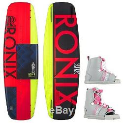 Ronix Quarter'til Midnight Wakeboard + Liquid Force Bindings