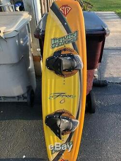Vintage LIQUID FORCE WAKE BOARD With Boots. 100% Original. 56