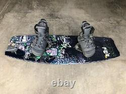 Wakeboard with Bindings Good Condition