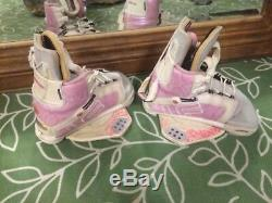 Womans Wake Board Boot Liquid Force Pink