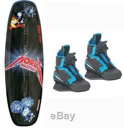 World Liquid Force Kid Wakeboard with Element Bindings Boot 12-4 Package 2nd c49