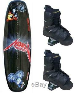World Liquid Force Wakeboard & Watson Pro Bindings M L 7-9 Package 2nd c73 X NEW